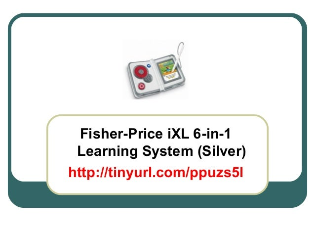 Fisher-Price iXL 6-in-1 Learning System (Silver) http://tinyurl.com/ppuzs5l