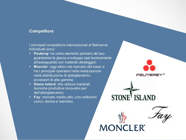 moncler competitors