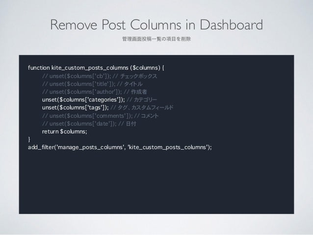 """RequireTitle  投稿タイトルを必須にする function kite_require_title() { ?> <script type=""""text/javascript""""> jQuery(document).ready(func..."""