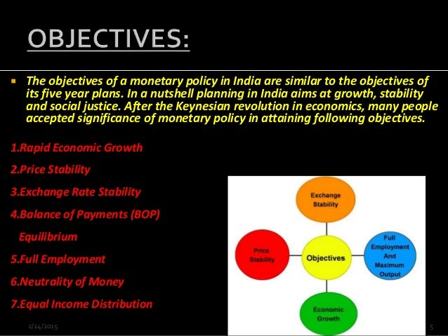 positive impact of monetary policy