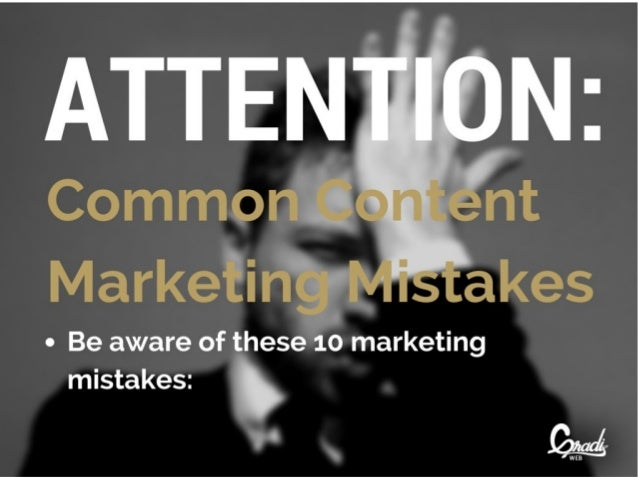 "- Be aware of these 10 marketing  mistakes:  '  ""."