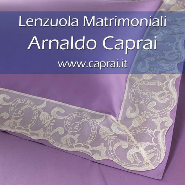 Lenzuola Matrimoniali Di Lusso.Lenzuola Matrimoniali Arnaldo Caprai