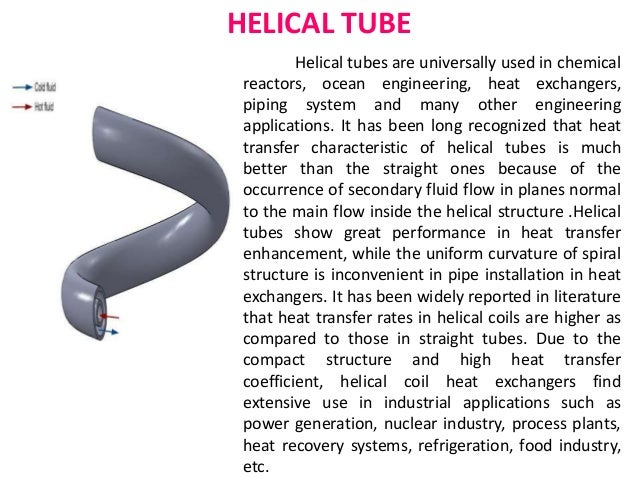 thesis helical coil heat exchanger