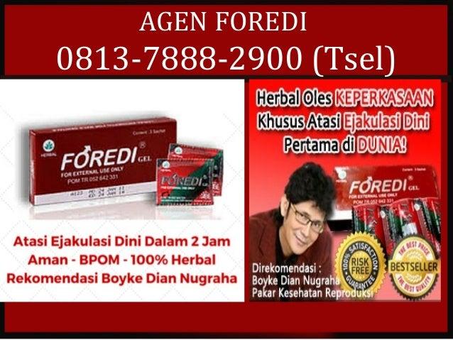 AGEN FOREDI 0813-7888-2900 (Tsel)