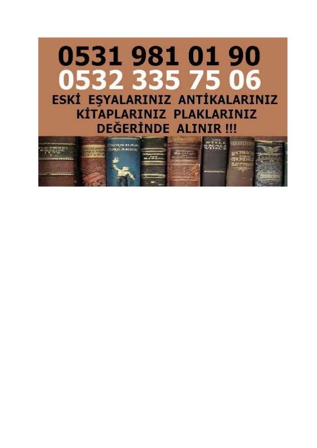 İslambey ikinci el kitap alanlar 0532-335-75-06
