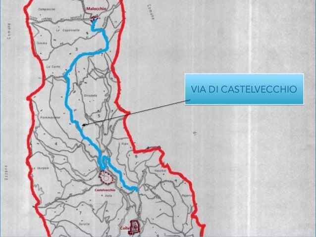 """Il """"Ponte di Castelvecchio"""" per  scavalcare  la Cessana.  Nel 1691 risultava rovinato e fu  rifatto tem..."""
