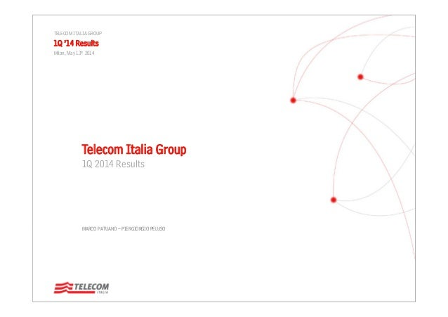 Telecom Italia Group - 1Q 2014 Results