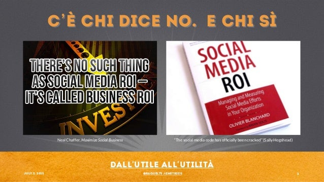 Social Media ROI: from Useful to Youtility. Measuring heart, measuring responsibility Slide 3