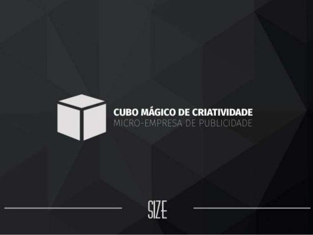 CUBO MÁGICO DE CRIATIVIDADE - Micro empresa de Publicidade