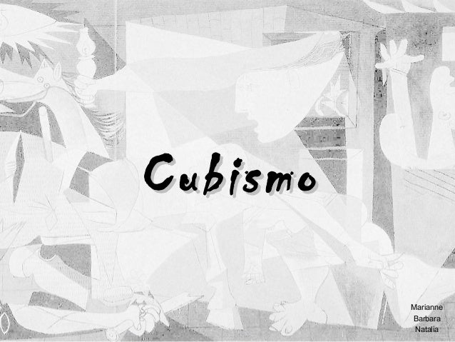 Cubismo Marianne Barbara Natalia