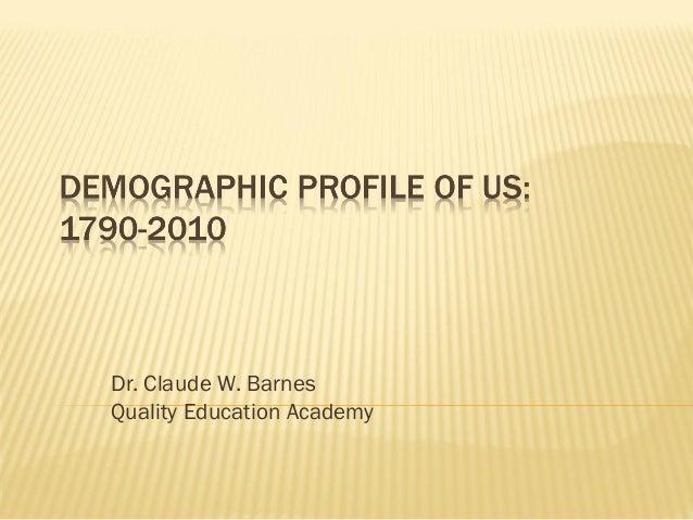 Dr. Claude W. Barnes Quality Education Academy