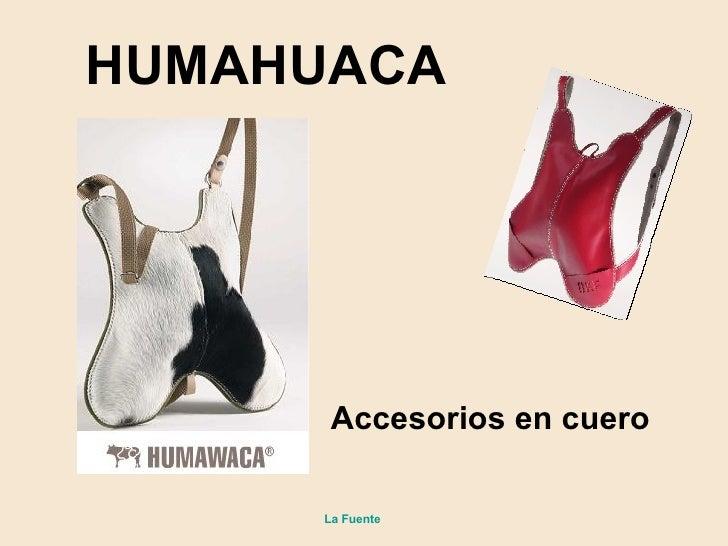 Accesorios en cuero HUMAHUACA La Fuente