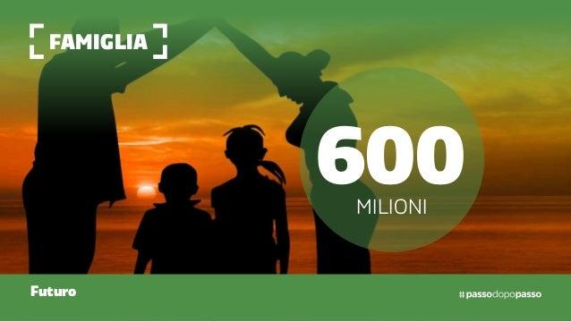 famiglia Futuro 600milioni