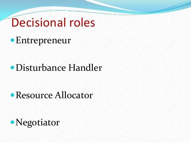 mintzberg the disturbance handler Start studying mintzberg's three main roles of management learn vocabulary,  what are mintzberg's 3 main roles of management 1  disturbance handler 3.