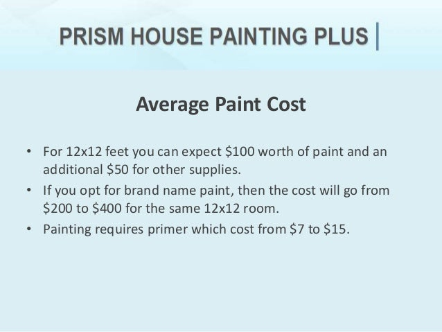 How much does it cost to paint a house interior - Cost of painting interior of home ...