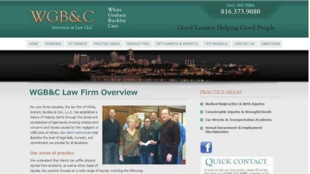 Kansas City Nursing Home Negligence Lawyers | 816-931-9080 | White, Graham, Buckley & Carr, LLC