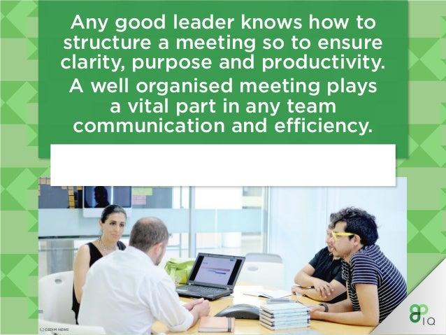 IQ Management - Team Meetings Slide 3