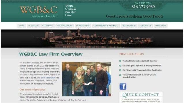 Kansas City Misdiagnosis of Stroke Lawyers | 816-931-9080 | White, Graham, Buckley & Carr, LLC Slide 2