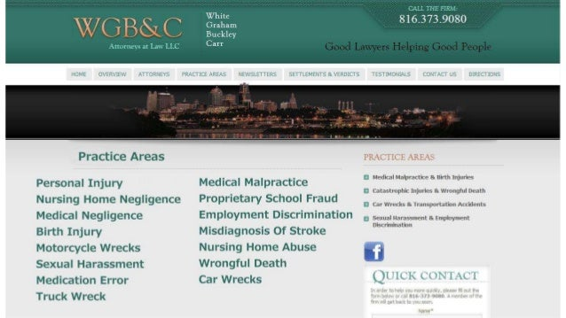 Kansas City Misdiagnosis of Stroke Lawyers | 816-931-9080 | White, Graham, Buckley & Carr, LLC Slide 3