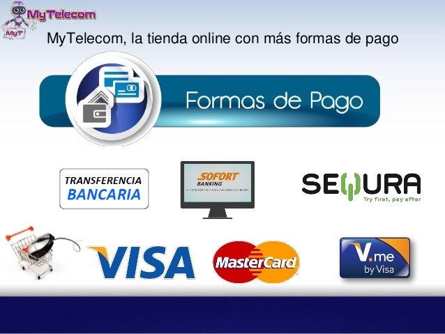 MyTelecom, la tienda online con más formas de pago