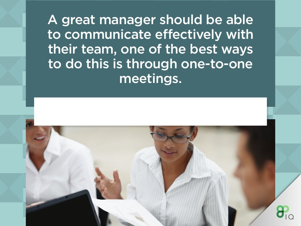 A Great Manager Should Be