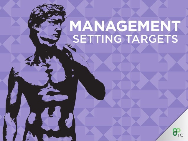 MANAGEMENT SETTING TARGETS