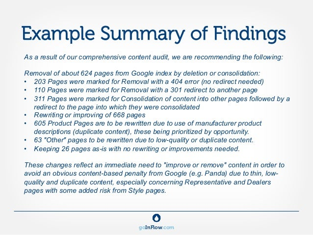Doc907650 Audit Summary Template Doc907650 Audit Summary – Audit Findings Template