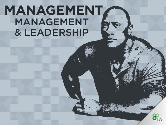 MANAGEMENT MANAGEMENT & LEADERSHIP