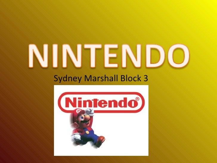 <ul><li>Sydney Marshall Block 3  </li></ul>