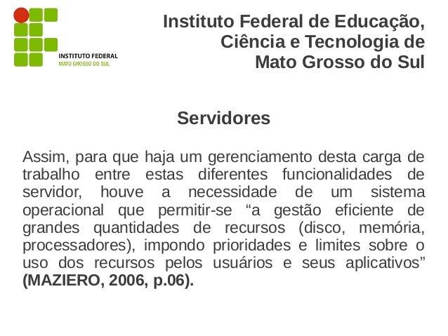 Instituto Federal de Educação,                          Ciência e Tecnologia de                              Mato Grosso d...