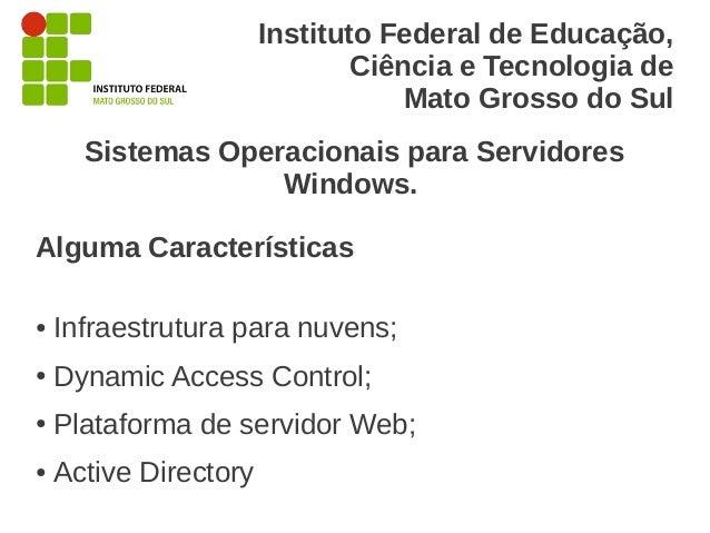 Instituto Federal de Educação,                               Ciência e Tecnologia de                                   Mat...