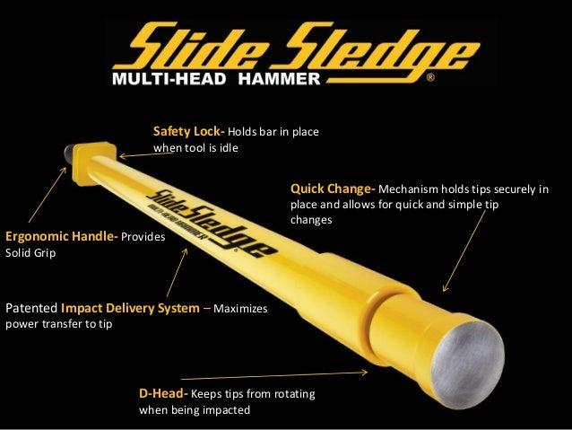 Slide Sledge Multi Head Hammer Features Guide