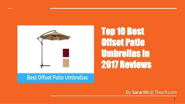 sc 1 st  SlideShare & Presentation about Best offset patio umbrellas