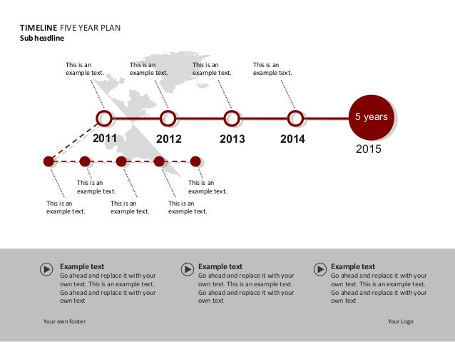 slide timeline corporate