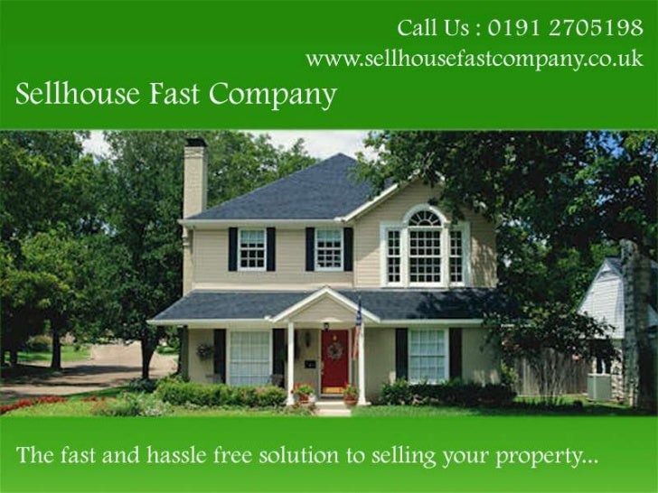 Sell House Fast Company