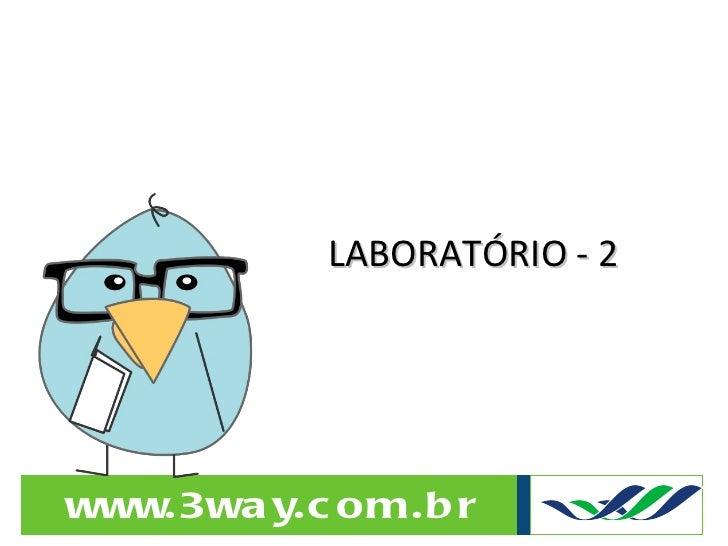 LABORATÓRIO - 2
