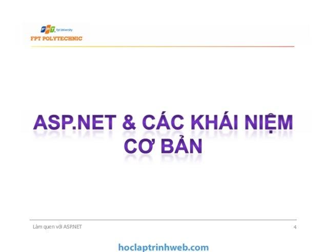 Làm quen với ASP.NET 4