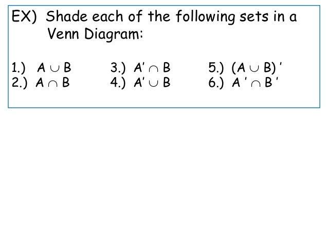 Venn Diagram Finite Math Yeniscale