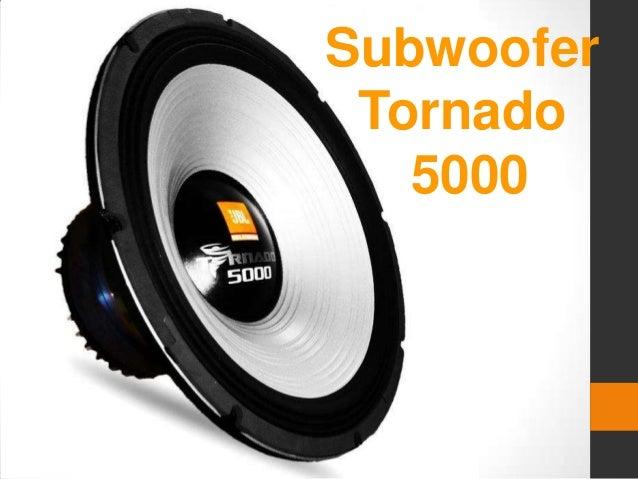 Subwoofer Tornado 5000