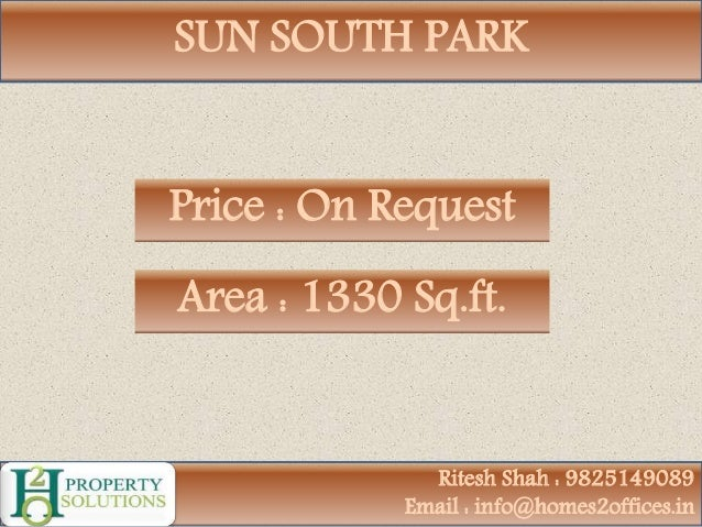 3 Bhk Luxurious Apartment For Sale In Sun South Park