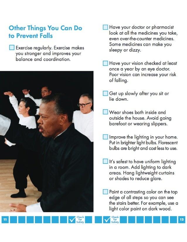 Falls Prevention Patient Handout