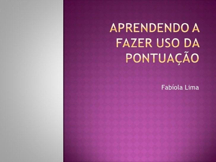 Fabíola Lima