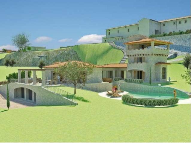 Progetto di una villa di pregio con piscina bio - Progetto villa con piscina ...