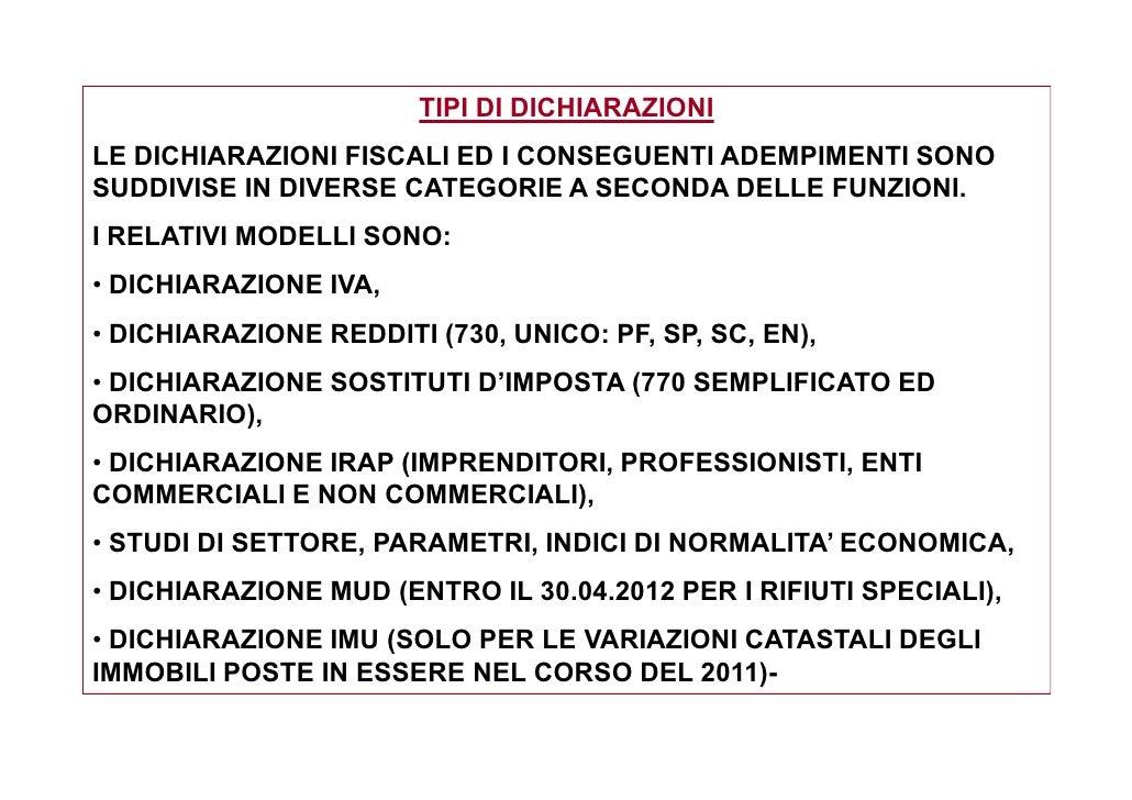 Problematiche nella predisposizione delle dichiarazioni for Dichiarazione 770
