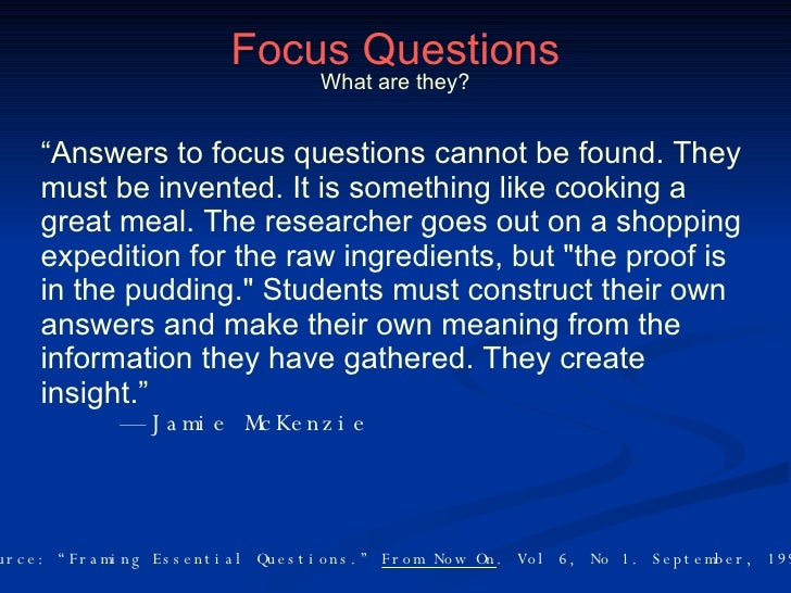 focus questions Focus questions background the student book is organized around three to five investigations, each of which contain three to five problems and a mathematical reflection that students explore during class.