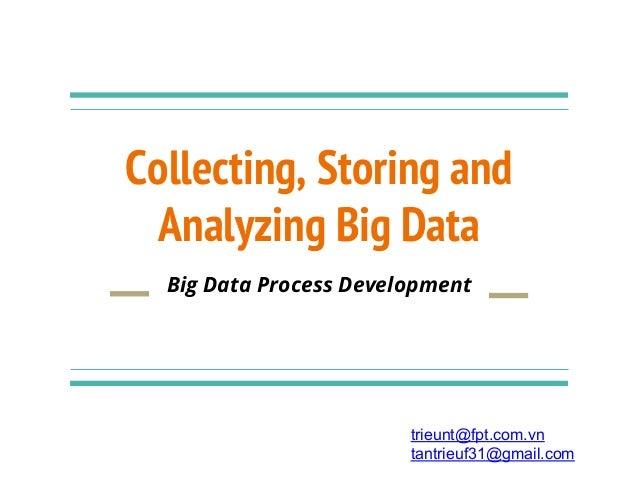 Collecting, Storing and Analyzing Big Data trieunt@fpt.com.vn tantrieuf31@gmail.com Big Data Process Development