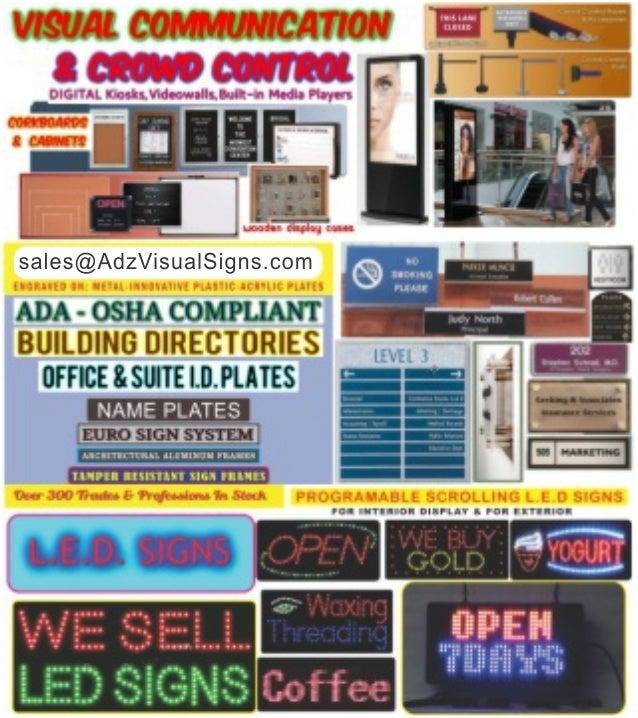 Building Signs ADA