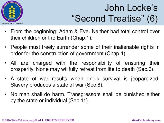 second treatise of civil government pdf inalienable rights