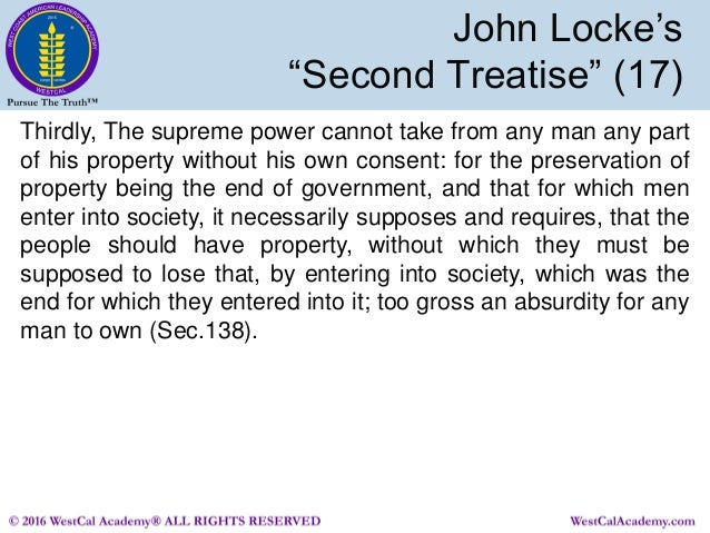 john locke and political authority essay Whereas today we have democrats and republicans arguing over these issues, in 17th-century england, the two prevailing viewpoints were best exemplified by the writings of thomas hobbes and john locke.