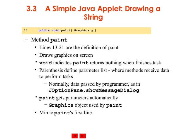 Drawing Lines In Java Applet : Slide appletv phpapp